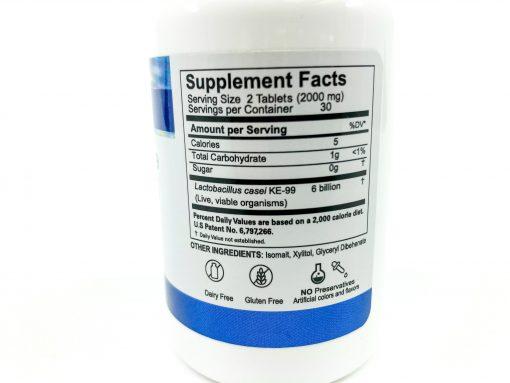 KE99 Supplement Facts